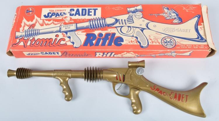 MARX TOM CORBETT ATOMIC RIFLE w/ BOX