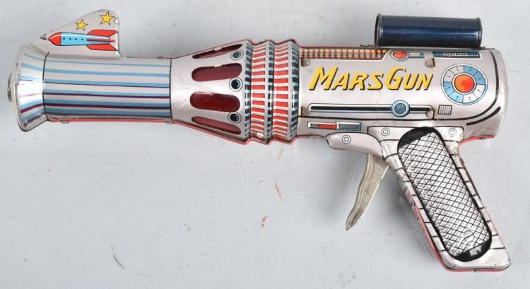 JAPAN Tin MARS SPACE GUN