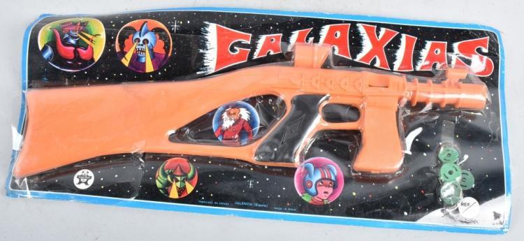 VINTAGE GALAXIAS SPACE GUN MOC