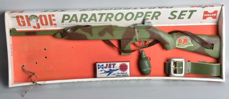 HALCO GI JOE PARATROOPER SET w/ BOX