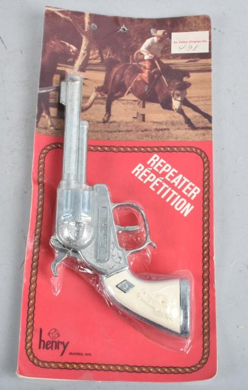 HENRY MARSHALL CAP GUN MOC