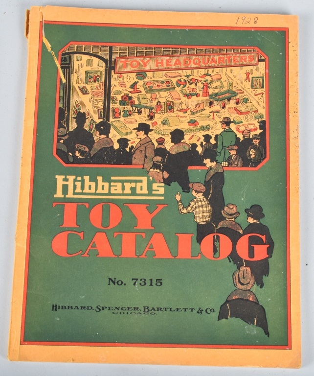 1928 HIBBARDS TOY CATALOGED Buddy L Steelcraft