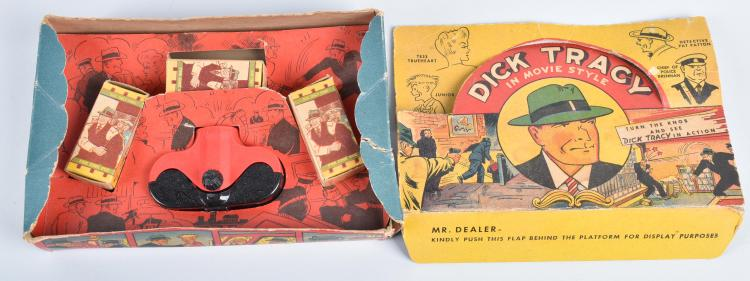 ACME DICK TRACY MOVIE VIEWER w/ BOX