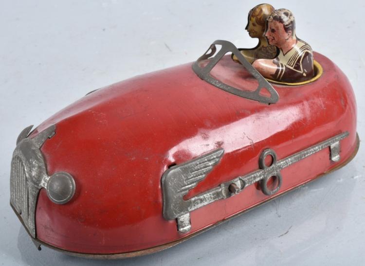 LINSTROM Tin Windup DOODLE BUG DODGE EM CAR