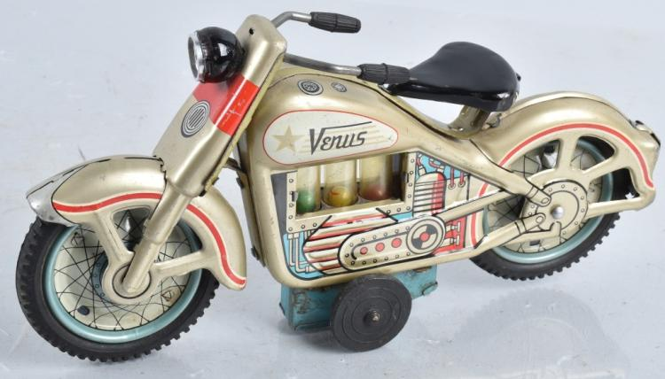 JAPAN Tin Friction VENUS MOTORCYCLE
