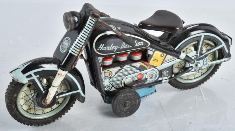 JAPAN Tin Friction HARLEY DAVIDSON MOTORCYCLE