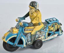 JAPAN Tin Friction HUNTER MOTORCYCLE