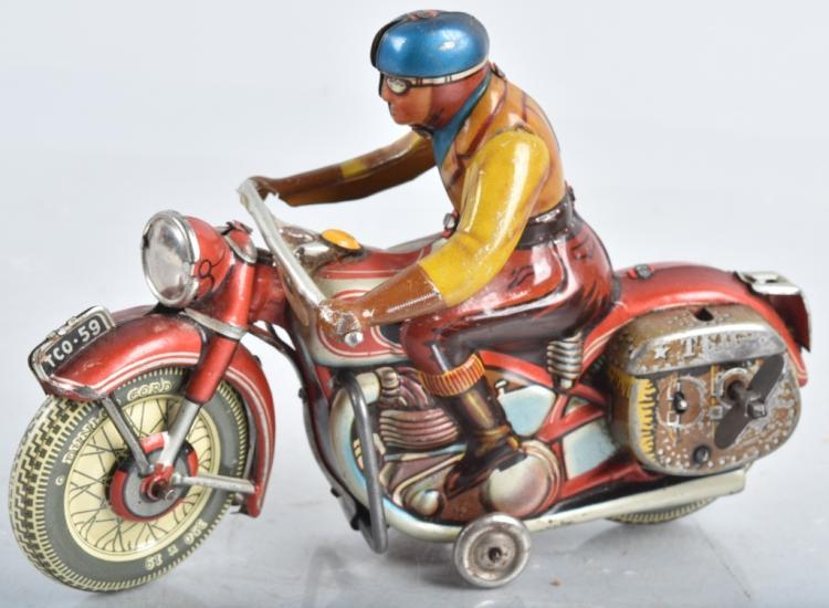 US Zone Germany TIPP CO Tin Windup MOTORCYCLE