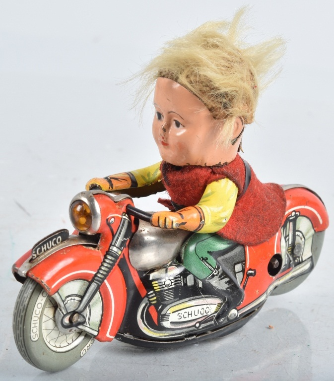 SCHUCO Windup MIRAKO PETER MOTORCYCLE