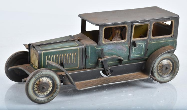 MOKO Tin Windup SEDAN w/ WORKING MOTOR