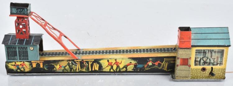 ARNOLD Tin Windup MINING CART