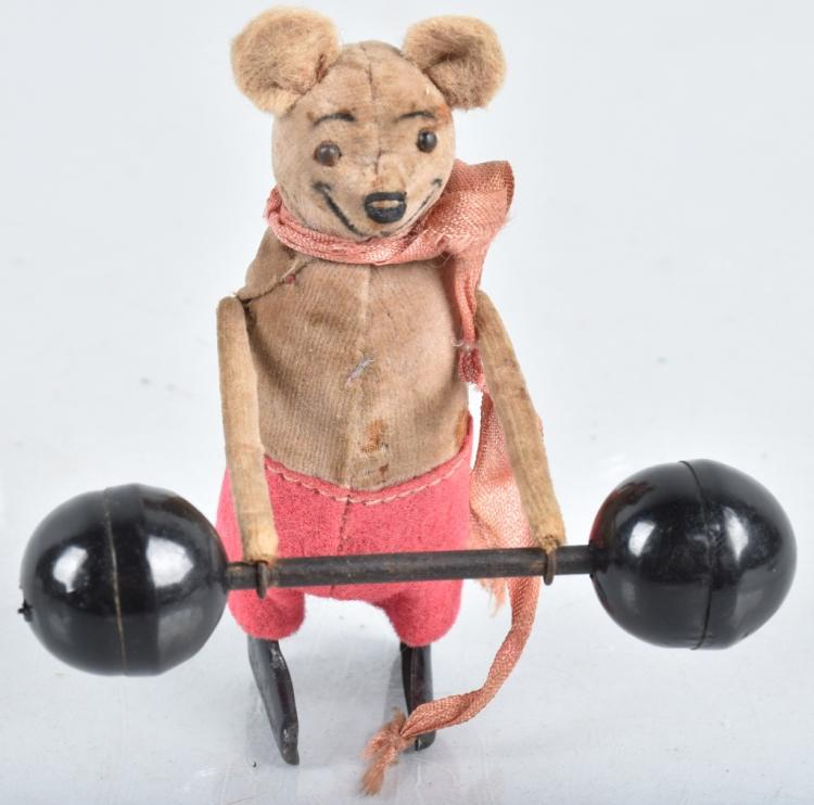 SCHUCO Windup MOUSE w/ WEIGHTS