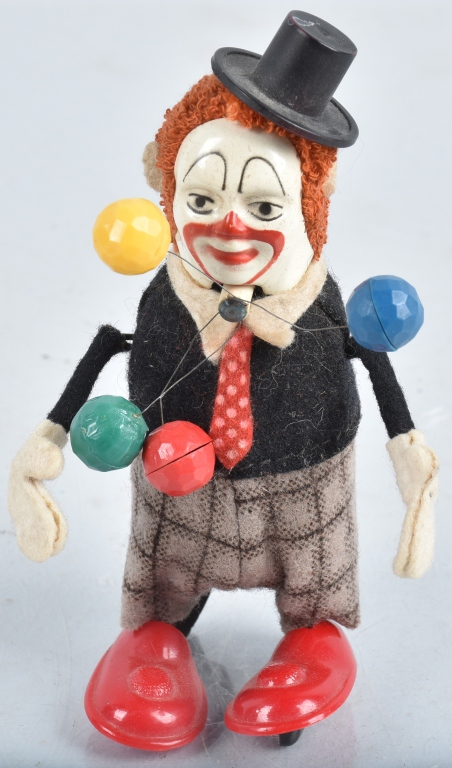 SCHUCO Windup CLOWN JUGGLER
