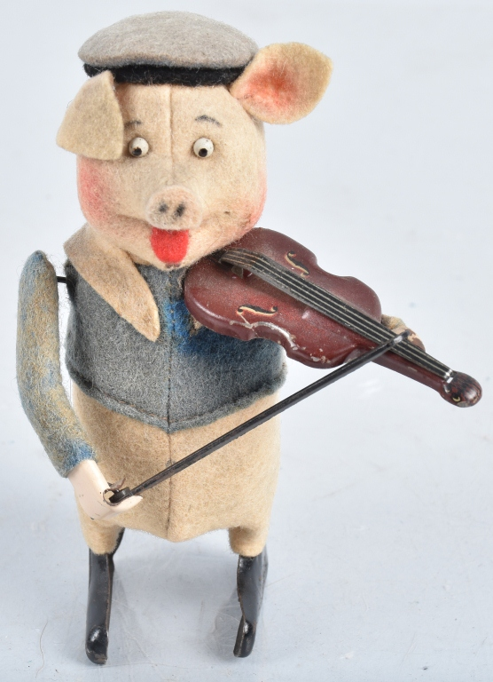 SCHUCO Windup VIOLIN PIG