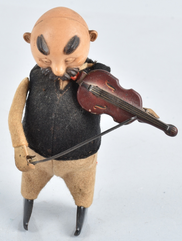 SCHUCO Windup MAN WITH VIOLIN