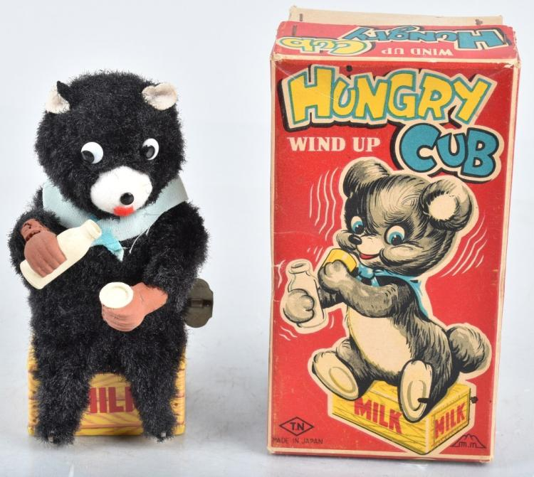 JAPAN Windup HUNGRY CUB w/ BOX