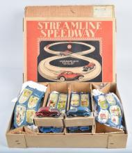 MARX STREAMLINE SPEEDWAY Mint In Box