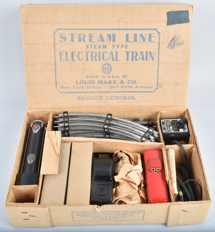 MARX Electric STREAM LINE TRAIN SET #4923 w/BOX