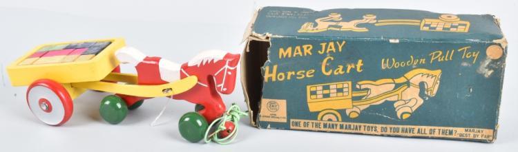 JAYMAR HORSE CART w/ BOX