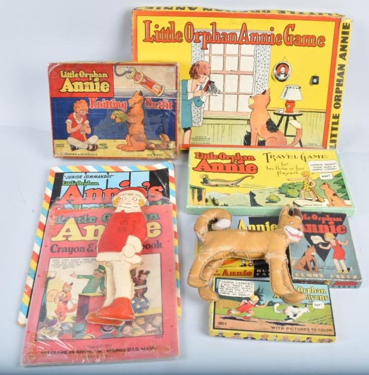 VINTAGE LITTLE ORPHAN ANNIE LOT