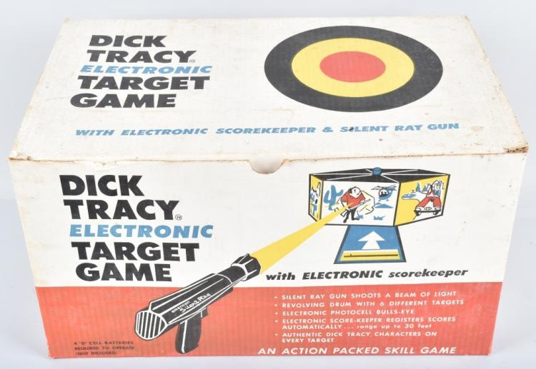 DICK TRACY ELECTRONIC TARGET GAME w/ BOX