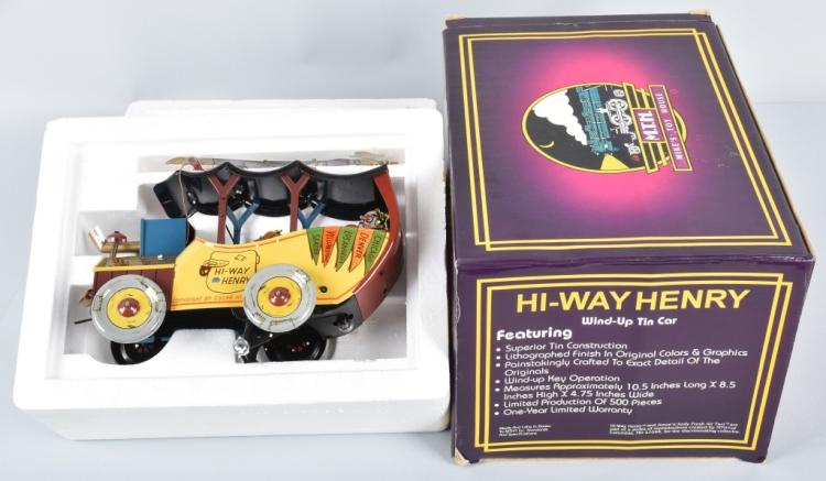 MTH Tin Windup HI-WAY HENRY MIB