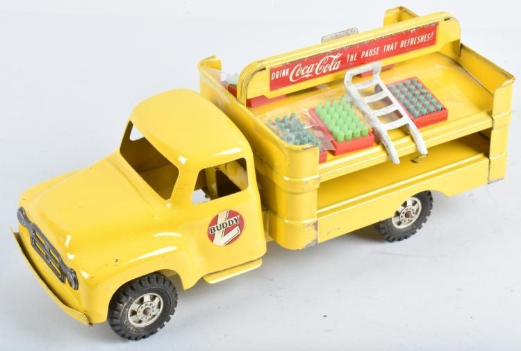 BUDDY L Pressed Steel COCA COLA TRUCK