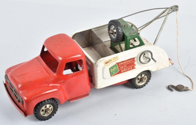 BUDDY L Pressed Steel AUTO WRECKER