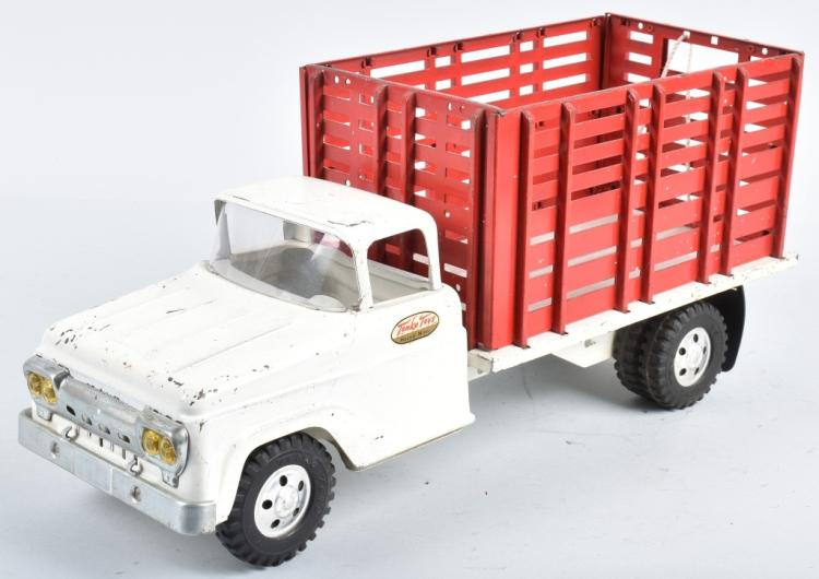 TONKA Pressed Steel HIGH STAKE BED TRUCK