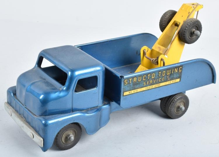 STRUCTO Pressed Steel TOWING SERVICE TRUCK