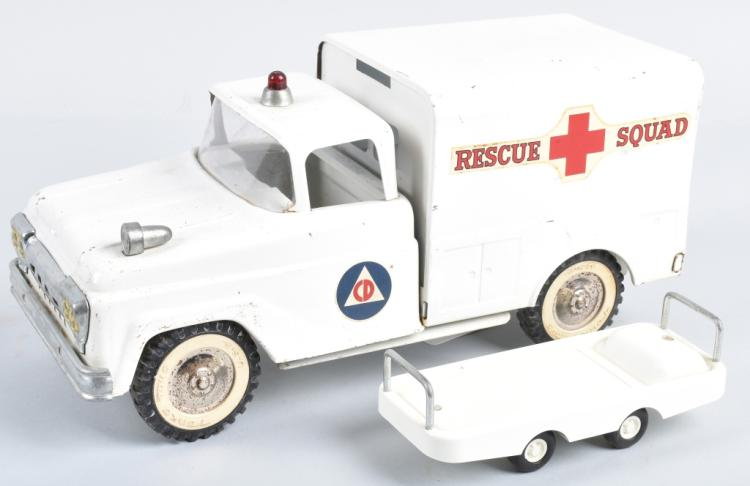 TONKA Pressed Steel CD RESCUE SQUAD