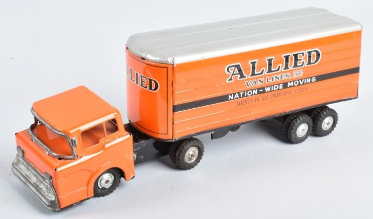 JAPAN Tin Friction ALLIED VAN LINES TRUCK