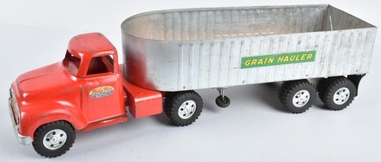 TONKA Pressed Steel GRAIN HAULER
