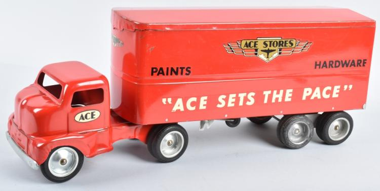 TONKA Pressed Steel ACE STORES SEMI TRUCK