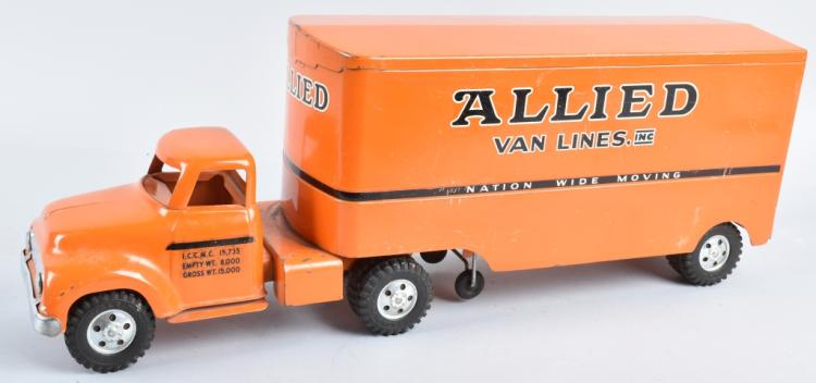 TONKA Pressed Steel ALLIED VAN LINES TRUCK