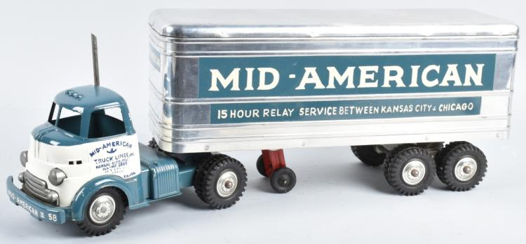 WYANDOTTE Private Lable MID-AMERICAN SEMI TRUCK