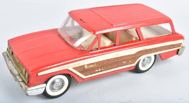 BUDDY L WOODY STATION WAGON