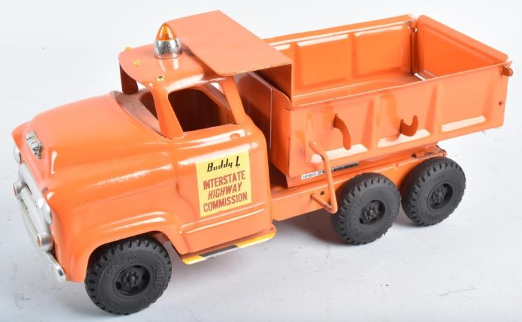 BUDDY L INTERSTATE HIGHWAY COMMISSION DUMP TRUCK