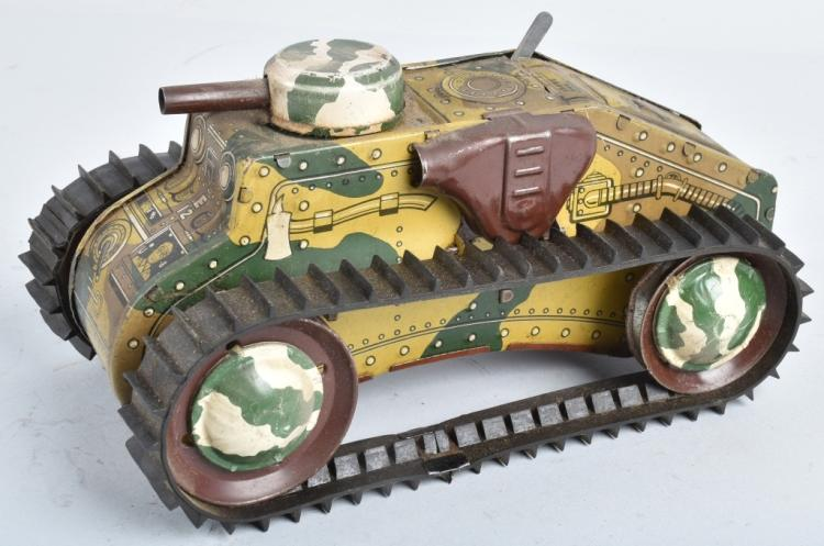 MARX Tin Windup CLIMBING TANK