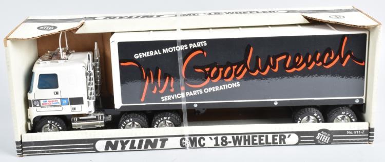 NYLINT MR GOODWRENCH GMC 18-WHEELER MIB