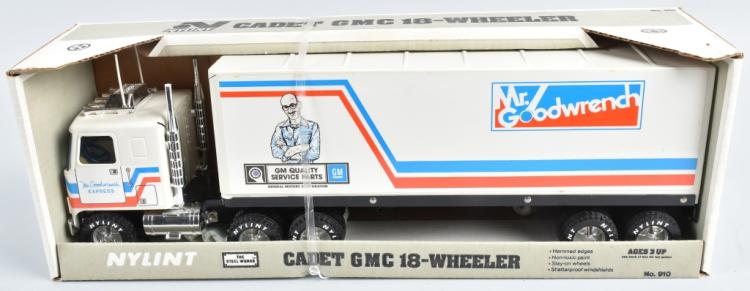 NYLINT MR GOODWRENCH CADET GMC 18-WHEELER MIB