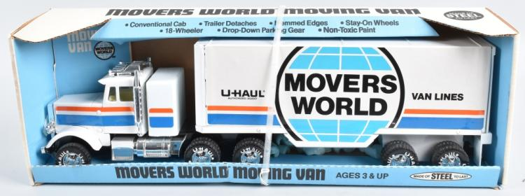 NYLINT MOVERS WORLD MOVING VAN MIB