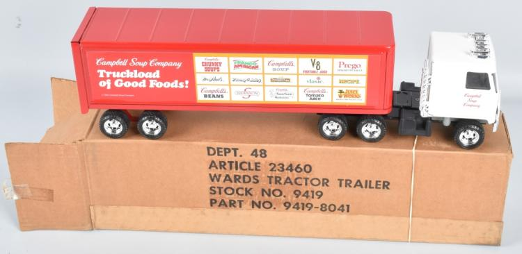 WARDS PROMOTIONAL TRACTOR TRAILER MIB
