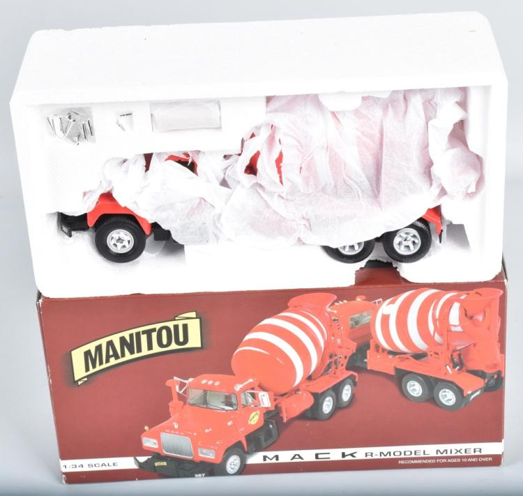 FIRST GEAR MANITOU MACK CEMENT MIXER MIB