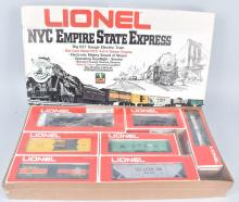 LIONEL NYC EMPIRE STATE EXPRESS TRAIN SET, BOXED