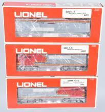 3-LIONEL SANTA FE ENGINES 6-8653, 6-8777, 6-8652