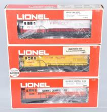 3-LIONEL ENGINES 6-8669, 6-8573, 6-8572