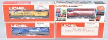 4-LIONEL ENGINES 6-8867, 6-8358, 6-8463, 6-8757