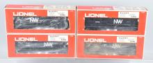 4-LIONEL N&W GP-9 ENGINES, 6-8763