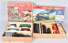 2-MARX HO TRAINS SETS BOXED